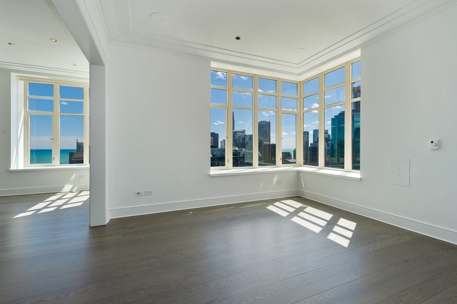 Real Estate Photography - 118 East Erie, 36F, Chicago, IL, 60611 - Dining Room