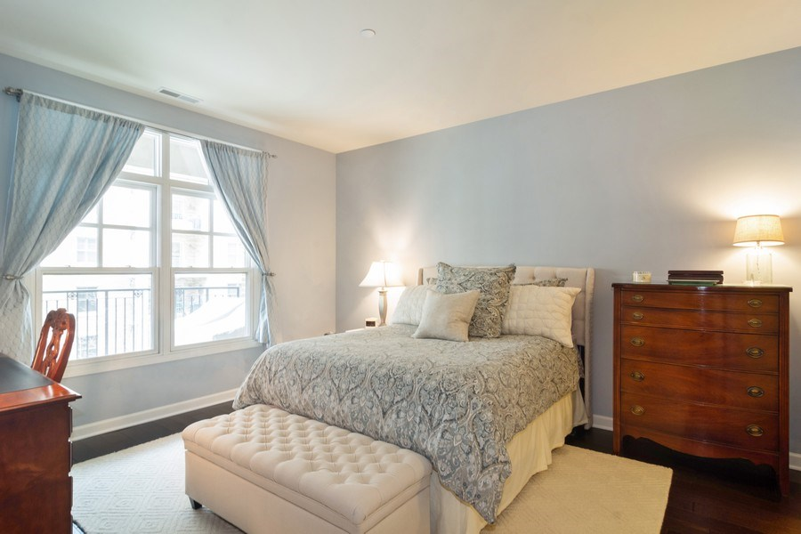 Real Estate Photography - 151 Wing St #309, Arlington Heights, IL, 60005 - Master Bedroom