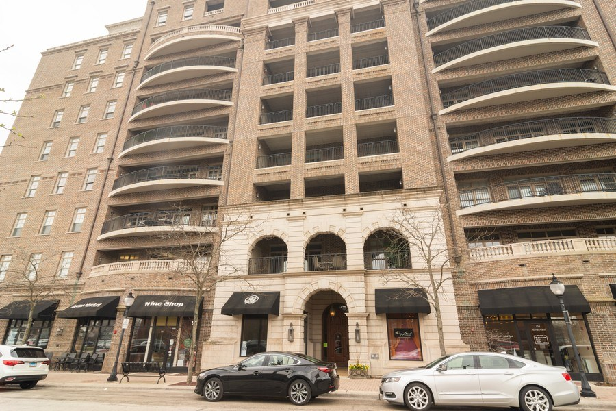 Real Estate Photography - 151 Wing St #309, Arlington Heights, IL, 60005 - Front View