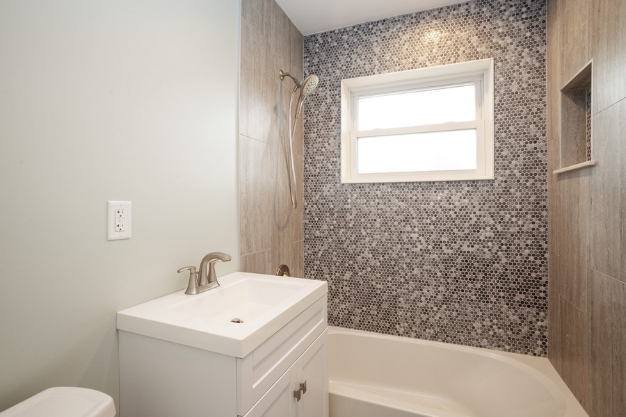 Real Estate Photography - 821 N Patton Ave, Arlington Heights, IL, 60004 - Bathroom