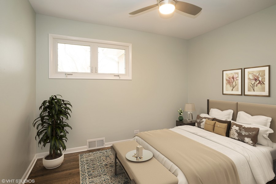 Real Estate Photography - 821 N Patton Ave, Arlington Heights, IL, 60004 - 2nd Bedroom