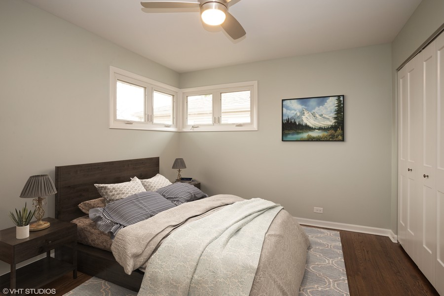 Real Estate Photography - 821 N Patton Ave, Arlington Heights, IL, 60004 - 3rd Bedroom