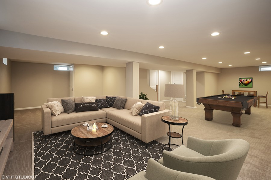 Real Estate Photography - 821 N Patton Ave, Arlington Heights, IL, 60004 - Basement