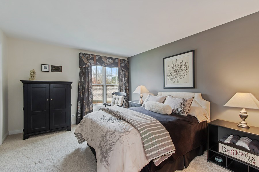 Real Estate Photography - 930 Lakewood Drive, Barrington, IL, 60010 - 4th Bedroom
