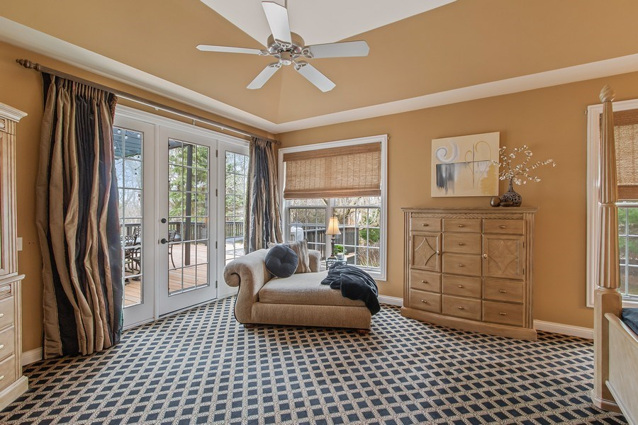 Real Estate Photography - 930 Lakewood Drive, Barrington, IL, 60010 - Master Bedroom