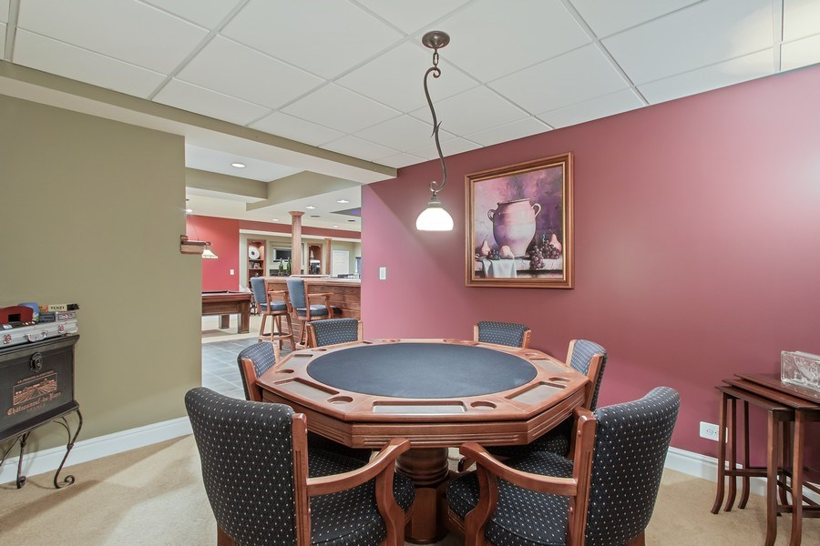 Real Estate Photography - 930 Lakewood Drive, Barrington, IL, 60010 - Card Sharks?