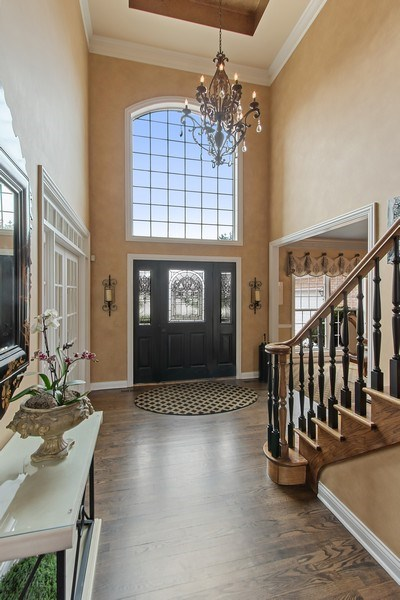 Real Estate Photography - 930 Lakewood Drive, Barrington, IL, 60010 - Foyer