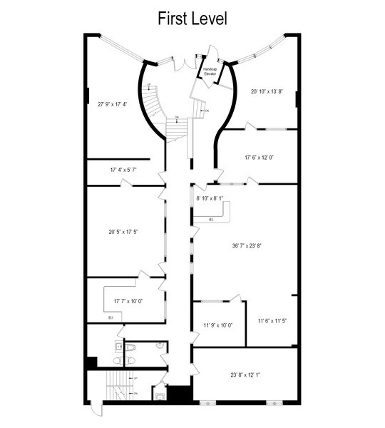 Real Estate Photography - 5850 N Lincoln Ave, Chicago, IL, 60659 - Floor Plan
