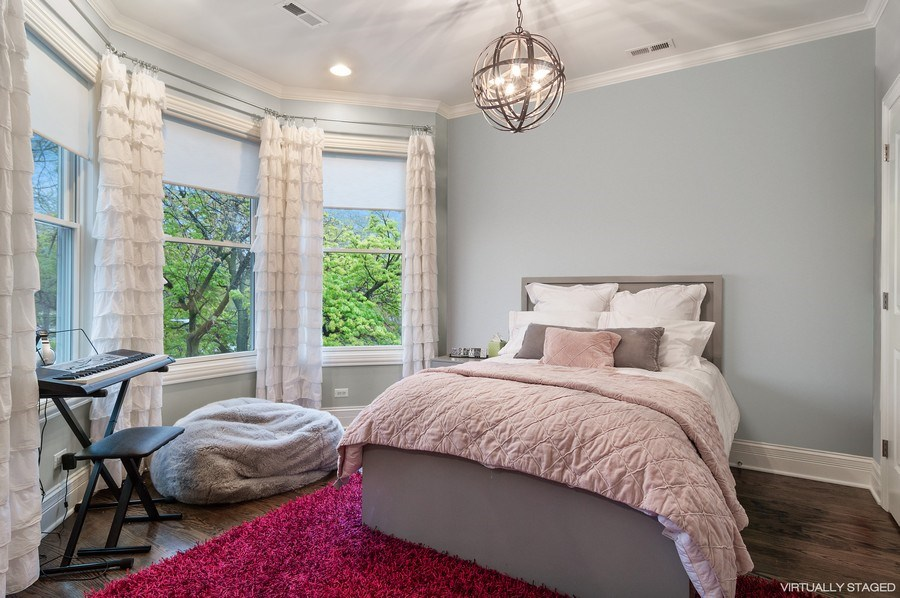 Real Estate Photography - 3036 N Hoyne Ave, Chicago, IL, 60618 - 2nd Bedroom