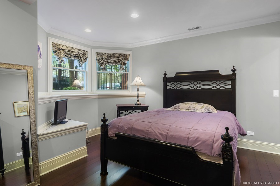 Real Estate Photography - 3036 N Hoyne Ave, Chicago, IL, 60618 - 3rd Bedroom