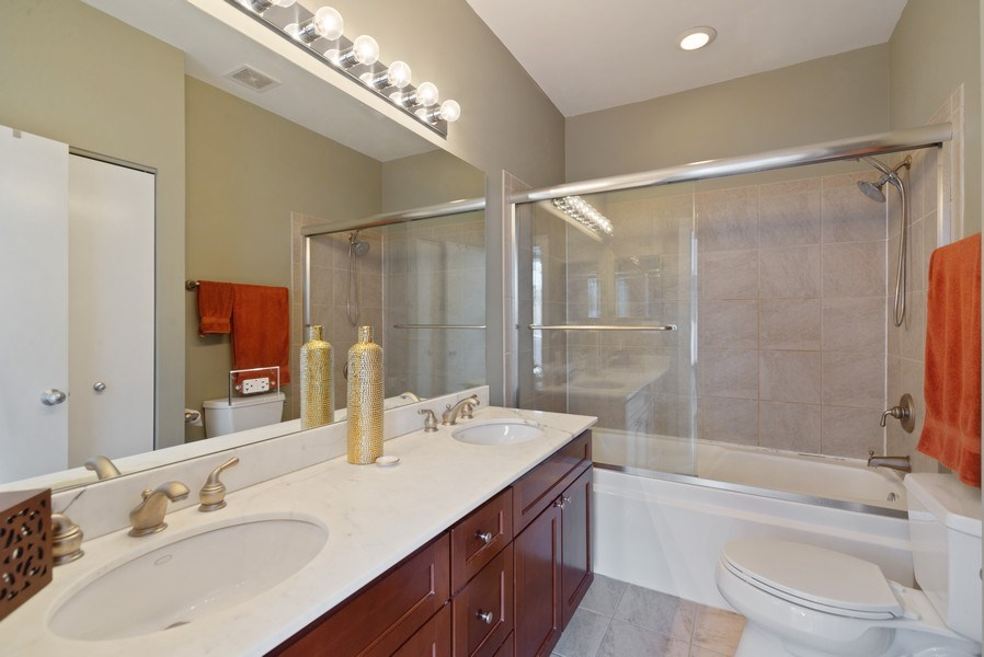 Real Estate Photography - 2338 W Wolfram, Chicago, IL, 60618 - Master Bathroom