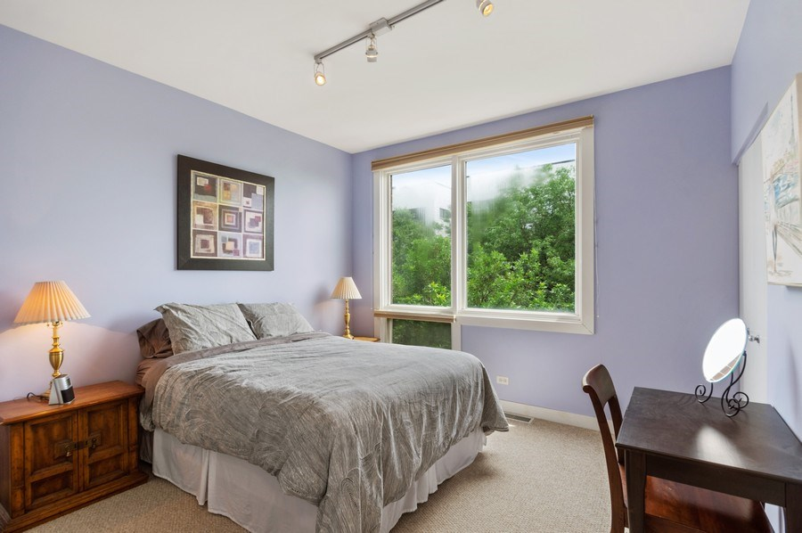 Real Estate Photography - 2338 W Wolfram, Chicago, IL, 60618 - Master Bedroom