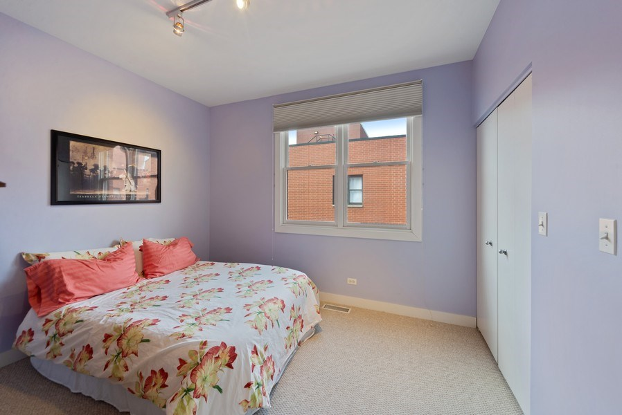 Real Estate Photography - 2338 W Wolfram, Chicago, IL, 60618 - 2nd bedroom