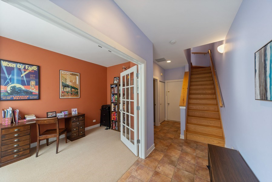 Real Estate Photography - 2338 W Wolfram, Chicago, IL, 60618 - Foyer