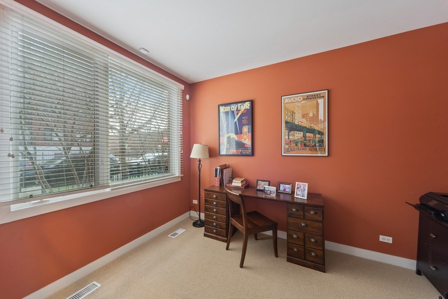 Real Estate Photography - 2338 W Wolfram, Chicago, IL, 60618 - 3rd bedroom