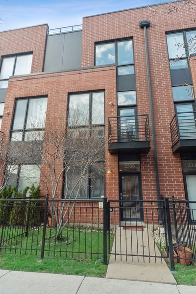 Real Estate Photography - 2338 W Wolfram, Chicago, IL, 60618 - Front View