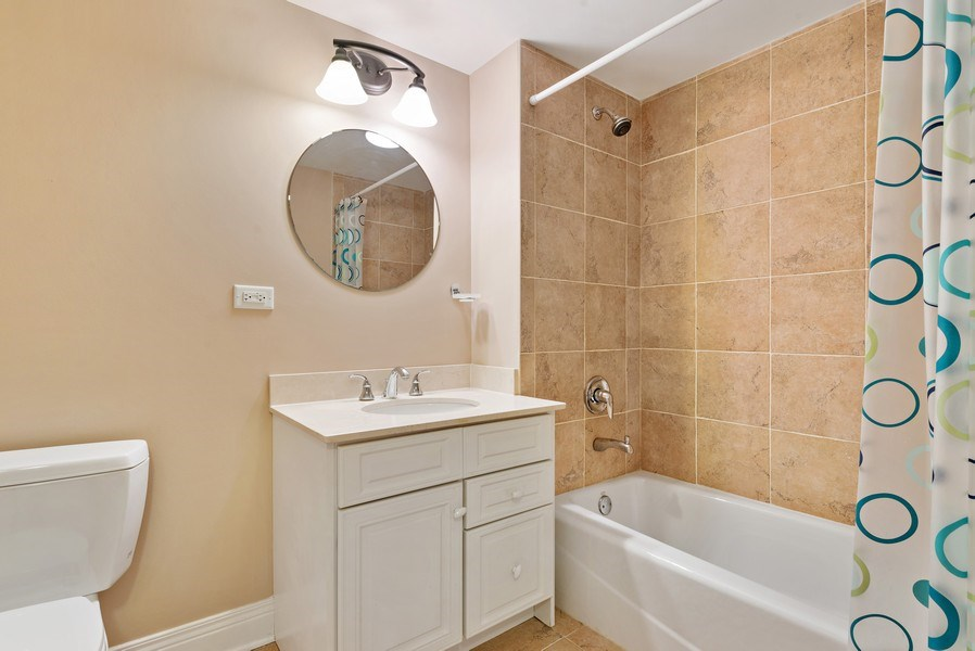 Real Estate Photography - 1415 Lincoln Ave, Evanston, IL, 60201 - 4th Bathroom