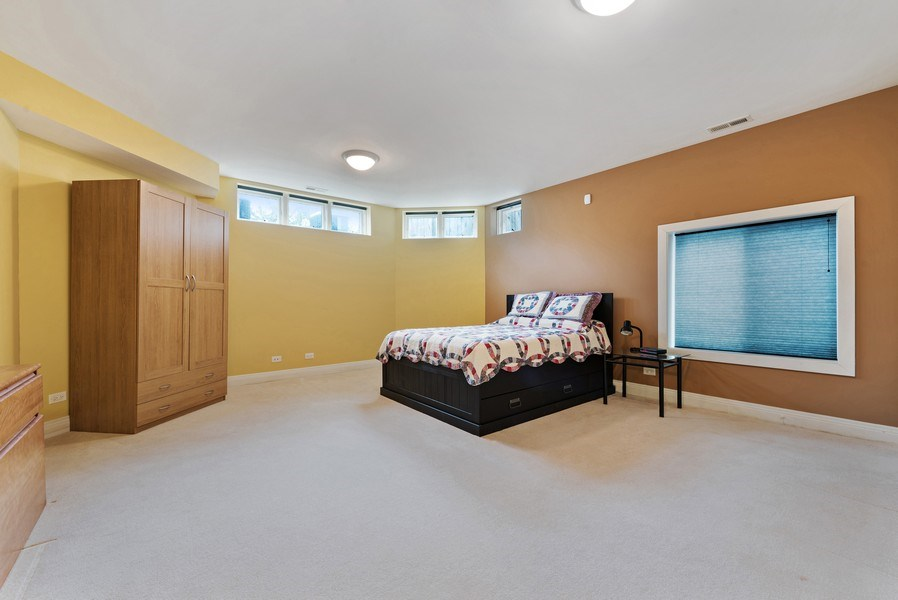 Real Estate Photography - 1415 Lincoln Ave, Evanston, IL, 60201 - Guest Bedroom