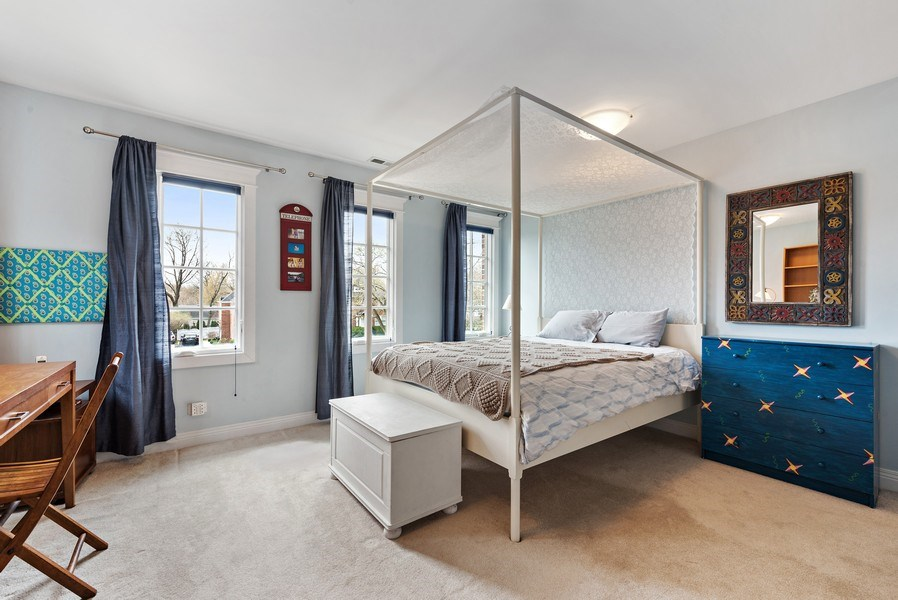 Real Estate Photography - 1415 Lincoln Ave, Evanston, IL, 60201 - 2nd Bedroom