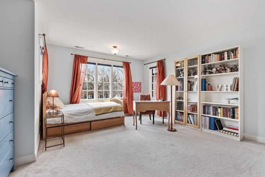Real Estate Photography - 1415 Lincoln Ave, Evanston, IL, 60201 - 3rd Bedroom