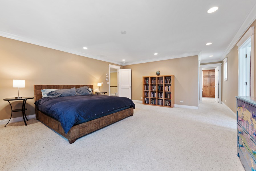 Real Estate Photography - 1415 Lincoln Ave, Evanston, IL, 60201 - Master Bedroom