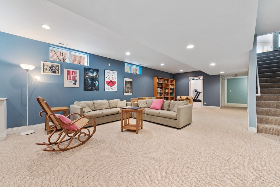 Real Estate Photography - 1415 Lincoln Ave, Evanston, IL, 60201 - Recreational Room