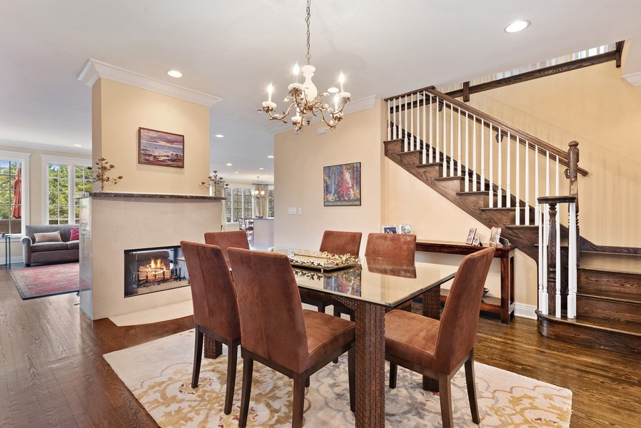 Real Estate Photography - 1415 Lincoln Ave, Evanston, IL, 60201 - Dining Room