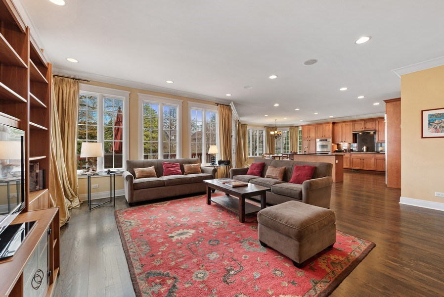 Real Estate Photography - 1415 Lincoln Ave, Evanston, IL, 60201 - Family Room