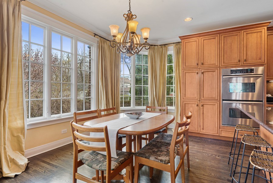 Real Estate Photography - 1415 Lincoln Ave, Evanston, IL, 60201 - Breakfast Area