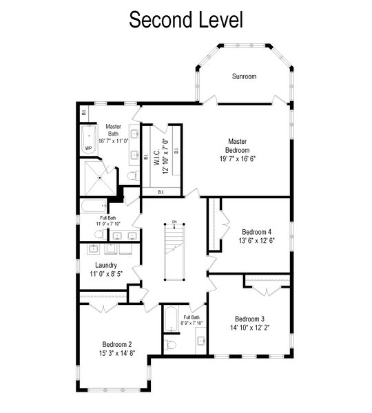 Real Estate Photography - 1415 Lincoln Ave, Evanston, IL, 60201 - Floor Plan