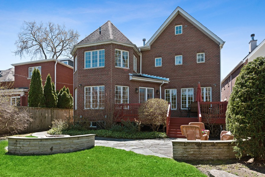 Real Estate Photography - 1415 Lincoln Ave, Evanston, IL, 60201 - Rear View