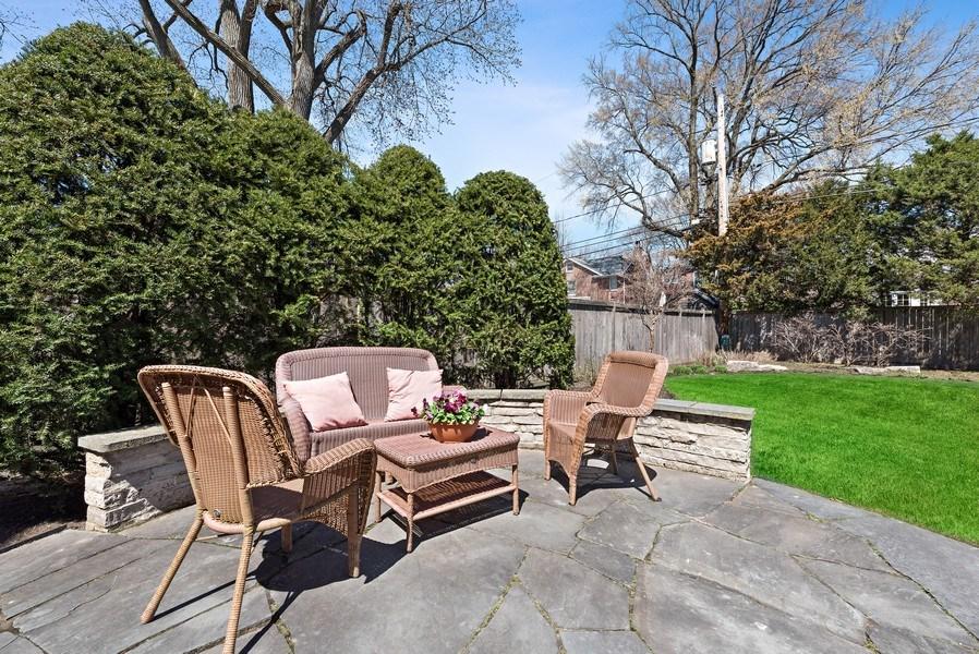 Real Estate Photography - 1415 Lincoln Ave, Evanston, IL, 60201 - Patio