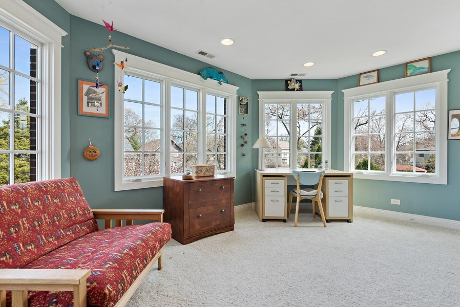 Real Estate Photography - 1415 Lincoln Ave, Evanston, IL, 60201 - Sun Room