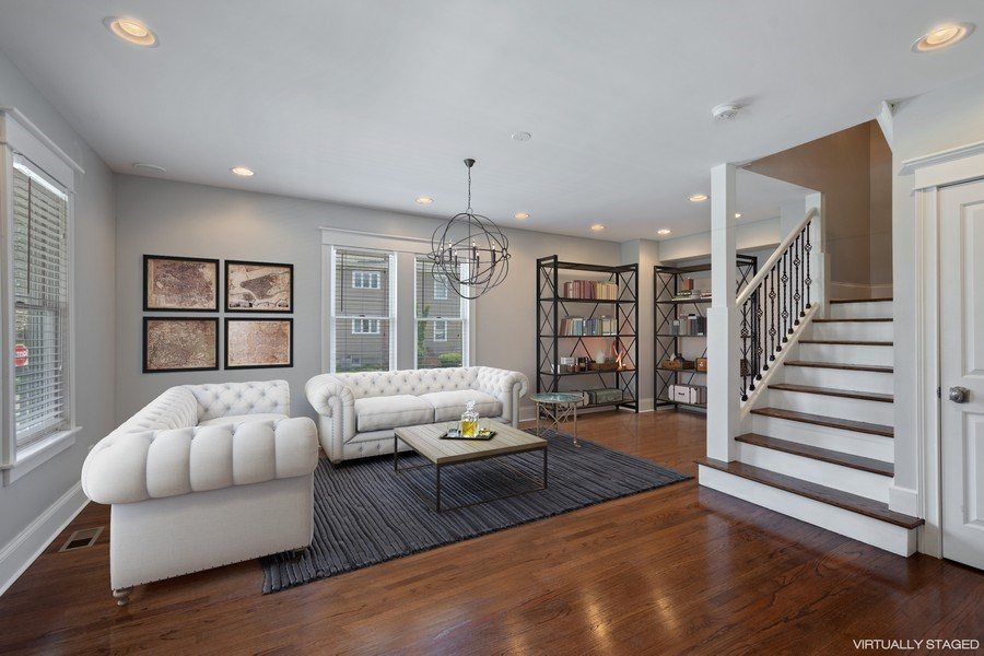 Real Estate Photography - 201 W Russell St, Barrington, IL, 60010 - Living Room