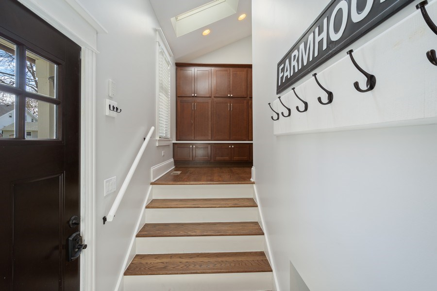 Real Estate Photography - 201 W Russell St, Barrington, IL, 60010 - Mudroom
