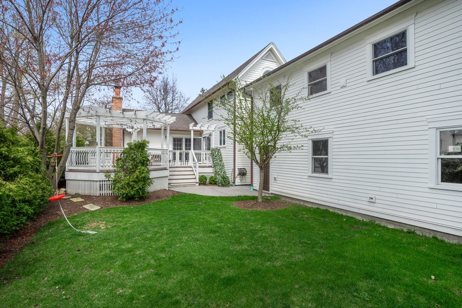 Real Estate Photography - 201 W Russell St, Barrington, IL, 60010 - Rear View