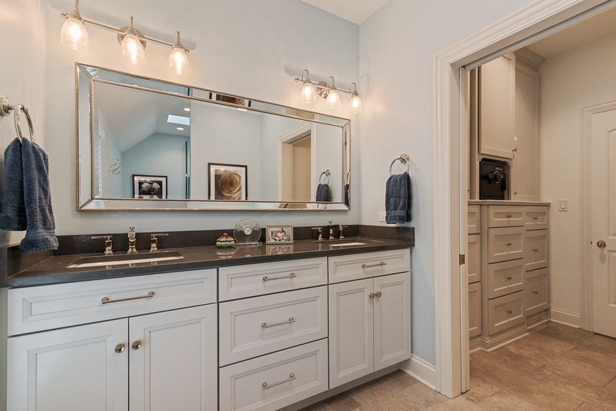 Real Estate Photography - 2021 Chestnut Ave, Wilmette, IL, 60091 - 3rd Bathroom