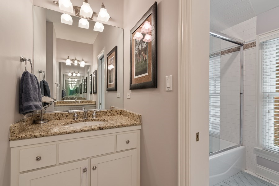 Real Estate Photography - 2021 Chestnut Ave, Wilmette, IL, 60091 - 4th Bathroom
