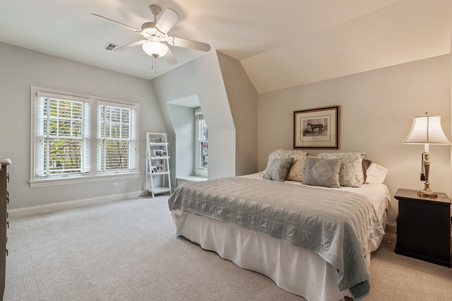 Real Estate Photography - 2021 Chestnut Ave, Wilmette, IL, 60091 - 2nd Bedroom