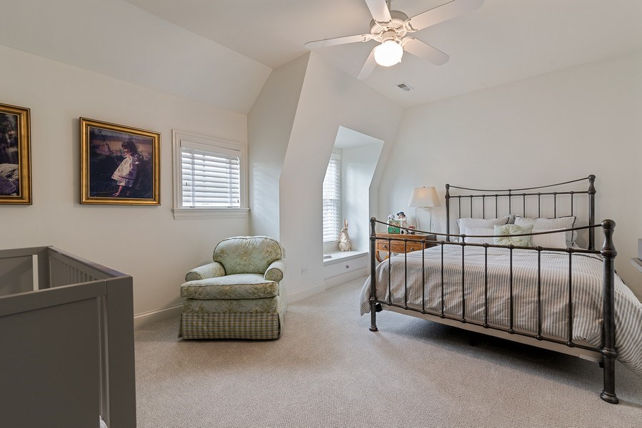 Real Estate Photography - 2021 Chestnut Ave, Wilmette, IL, 60091 - 3rd Bedroom