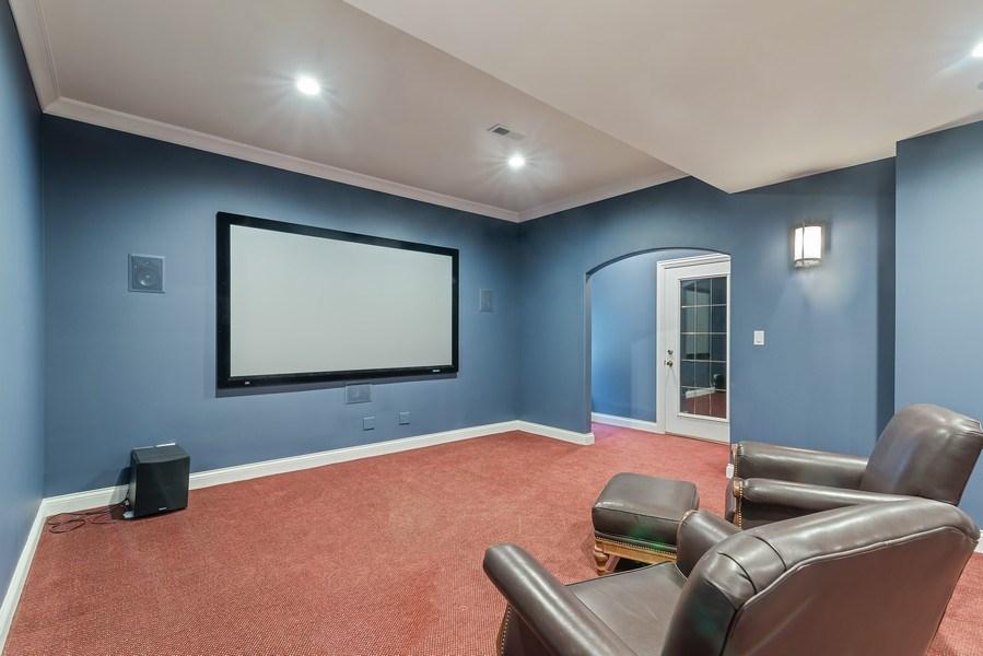 Real Estate Photography - 2021 Chestnut Ave, Wilmette, IL, 60091 - Theatre