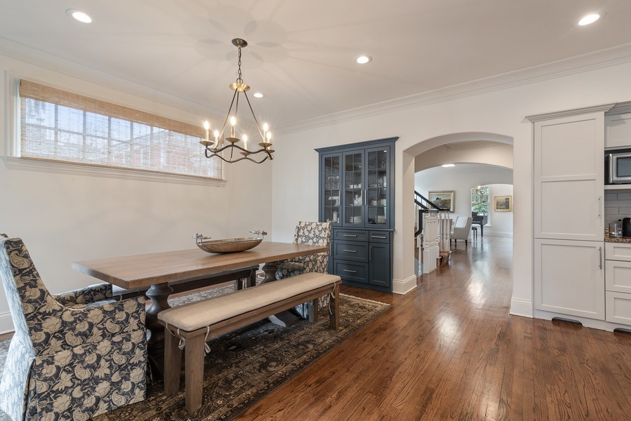 Real Estate Photography - 2021 Chestnut Ave, Wilmette, IL, 60091 - Breakfast Area