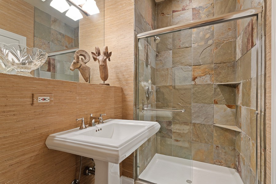 Real Estate Photography - 2021 Chestnut Ave, Wilmette, IL, 60091 - Bathroom