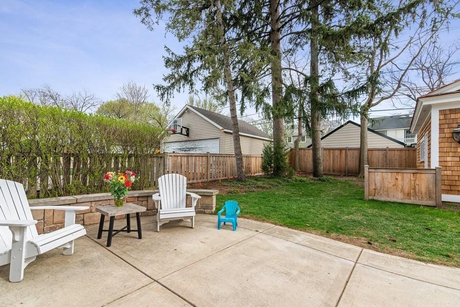 Real Estate Photography - 2021 Chestnut Ave, Wilmette, IL, 60091 - Patio