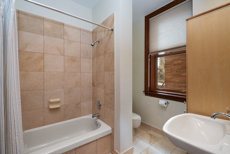 Real Estate Photography - 550 W Surf St, Unit 519, Chicago, IL, 60657 - Bathroom