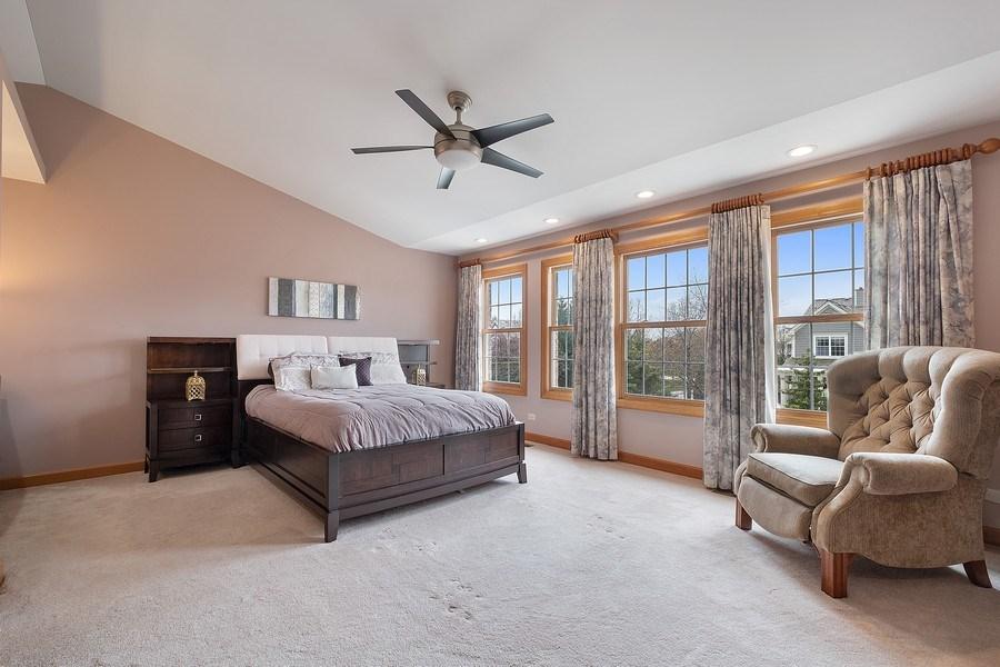 Real Estate Photography - 1650 Primrose Ln, Glenview, IL, 60026 - Master Bedroom