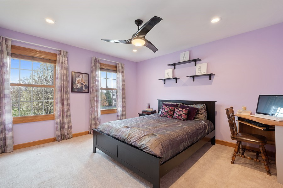 Real Estate Photography - 1650 Primrose Ln, Glenview, IL, 60026 - 3rd Bedroom