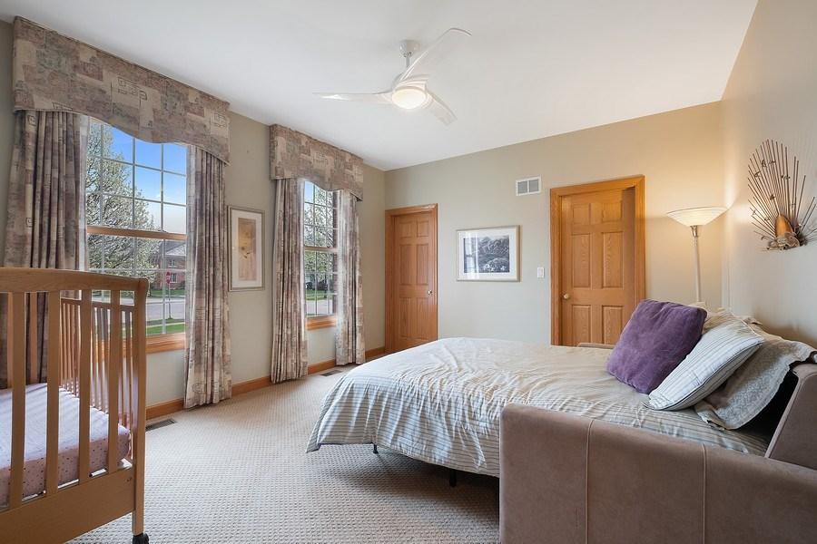 Real Estate Photography - 1650 Primrose Ln, Glenview, IL, 60026 - Main level bedroom