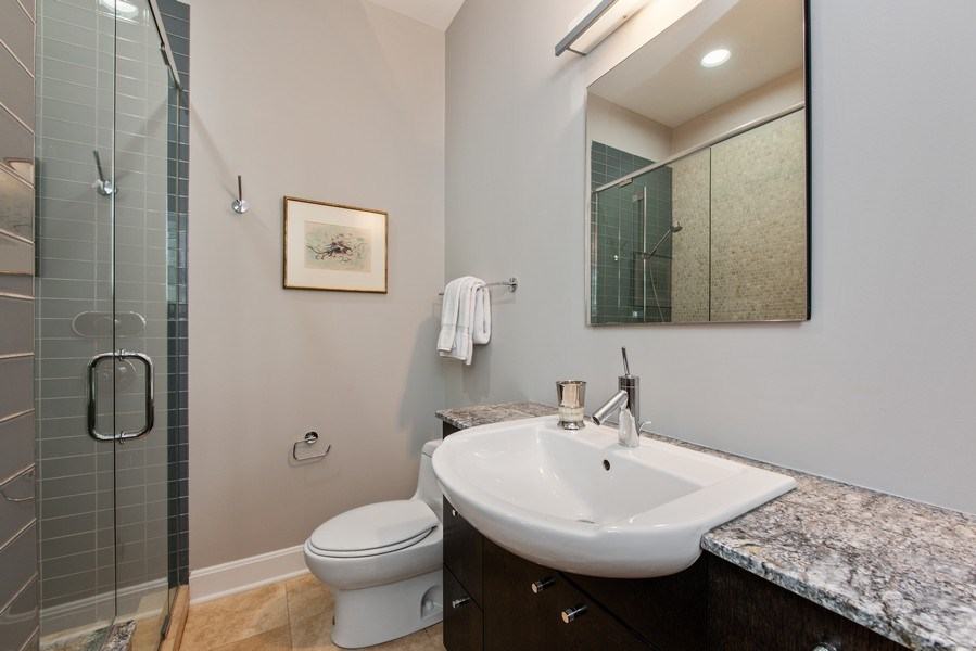Real Estate Photography - 1619 N. Paulina St., Chicago, IL, 60622 - 3rd Bathroom