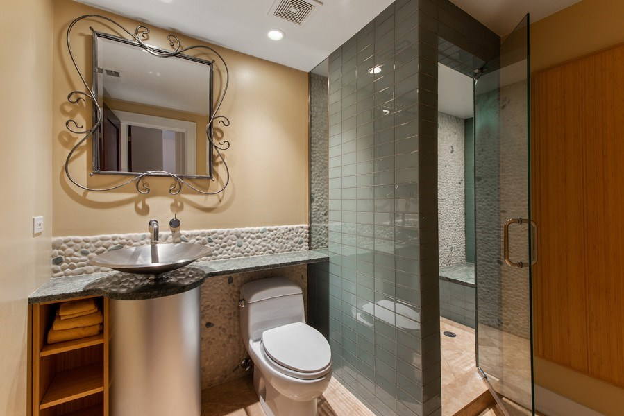 Real Estate Photography - 1619 N. Paulina St., Chicago, IL, 60622 - 4th Bathroom